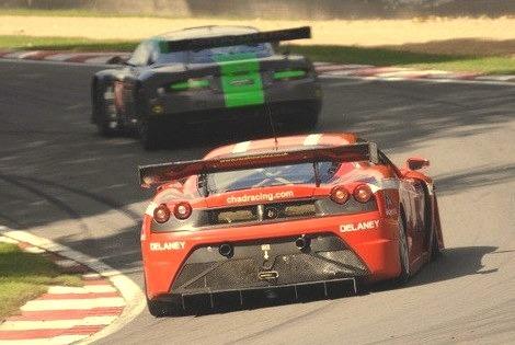 Ferrari F430 Scuderia GT3 and Aston Martin DBRS9