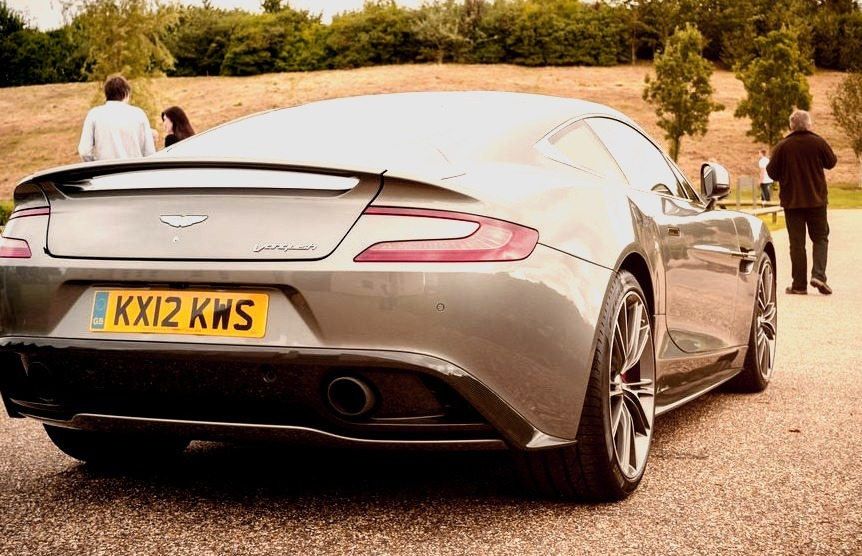 12 Aston Martin Vanquish