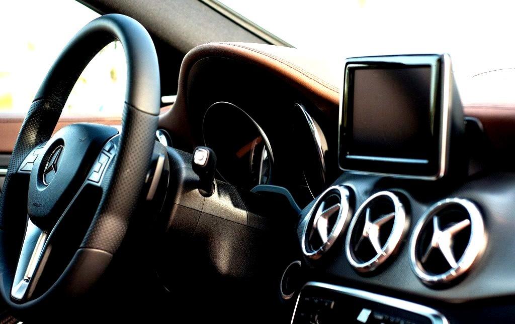 Mercedes-Benz CLA interior