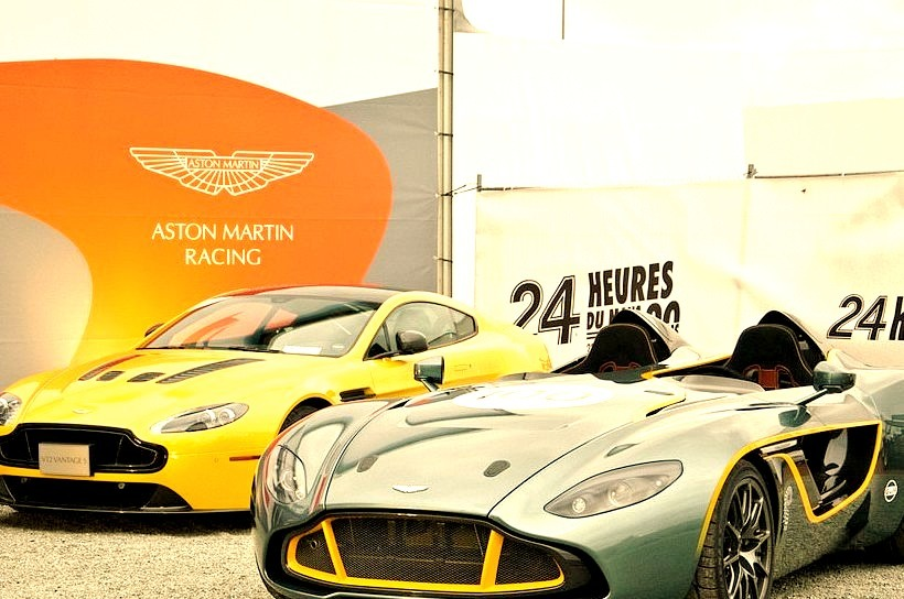 Aston-Martin CC100 Speedster and V12 Vantage