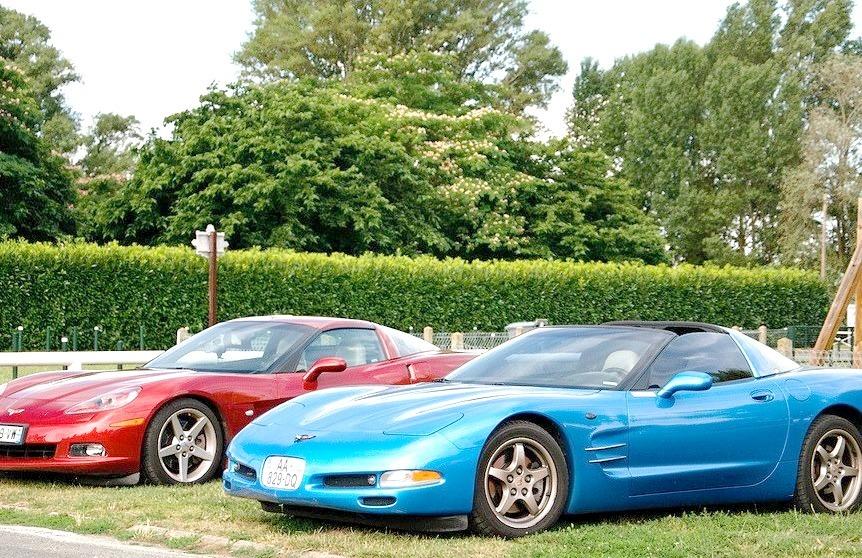Chevrolet Corvette C5 and C6