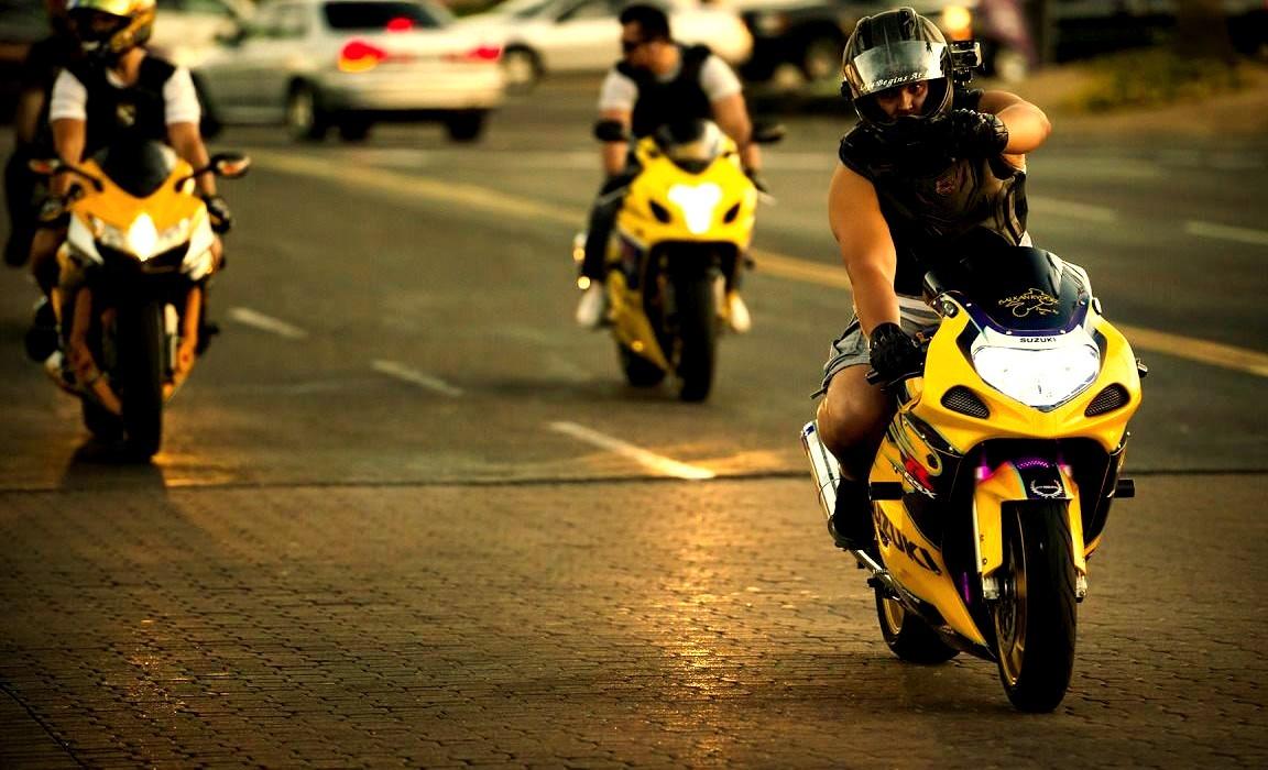 Sportbike Trio