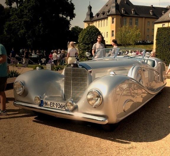 Mercedes-Benz 500K Erdmann & Rossi Streamline 1936