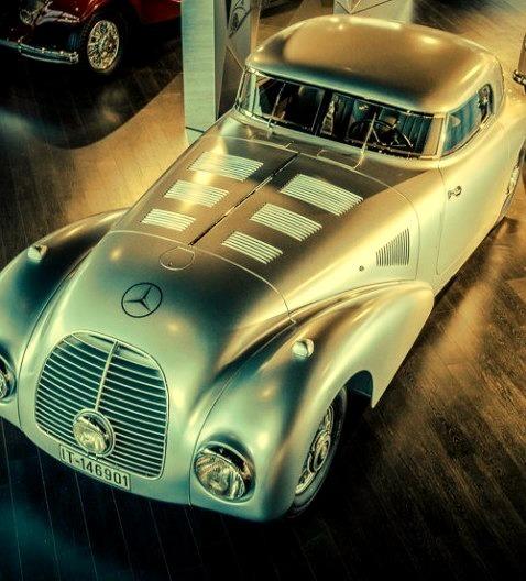 Mercedes-Benz 1938 540K Streamliner