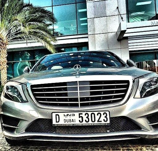 Mercedes-Benz S 500 (Instagram @mercedesbenzme)