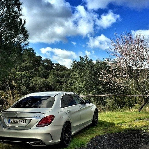 Mercedes-Benz C 63 AMG (Instagram @der_landgraf)